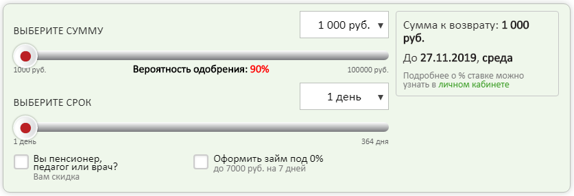 кредитный займ на карту онлайн до 100000 тысяч